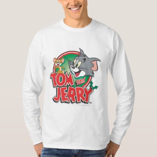 Tom and Jerry Classic Logo T-Shirt