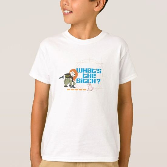 """Kim Possible Rufus """"what's the sitch?"""" Disney T-Shirt"""