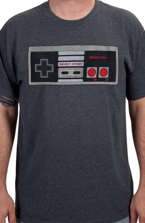 Nintendo Controller Shirt