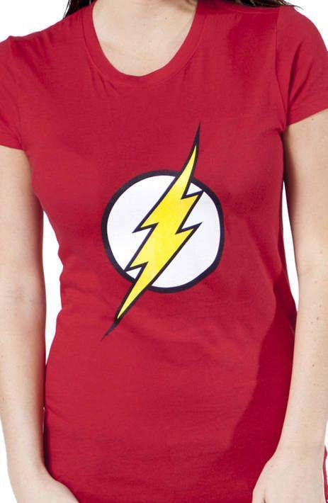 Ladies Flash Logo T-Shirt