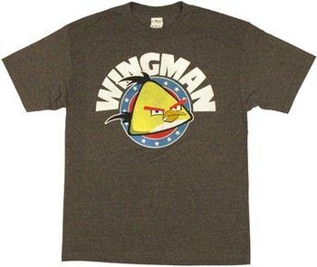 Angry Birds Turbo Wingman Yellow Bird T-Shirt