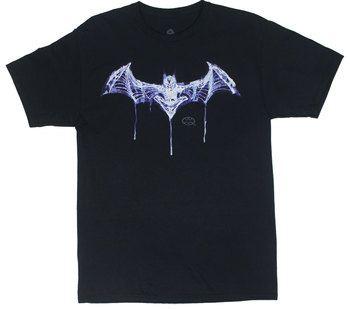 Batman Skeleton Logo - DC Comics T-shirt