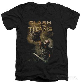 Clash Of The Titans - Medusa Head V-Neck