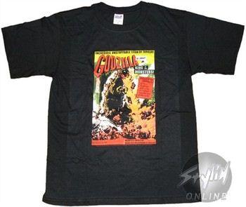 Godzilla Incredible Unstoppable Titan of Terror T-Shirt