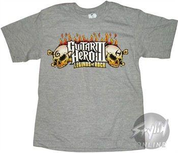 Guitar Hero Legends Skull Youth T-Shirt