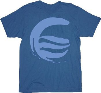 The Last Airbender Water Clan Light Navy Adult T-Shirt