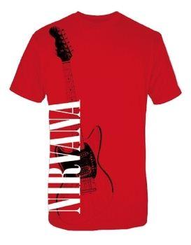 Nirvana Red Guitar Men's T-Shirt