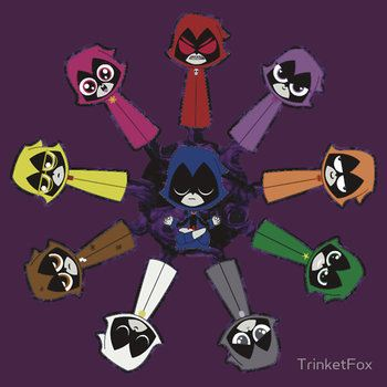 Teen Raven titans from