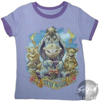 bb67a59f ... Disney Winnie the Pooh Eeyore Tiki Kingdom Girls Youth T-Shirt