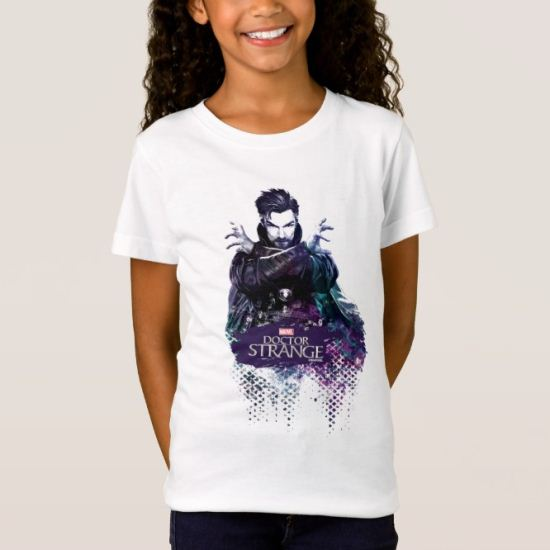 Doctor Strange Dark Watercolor Character Art T-Shirt