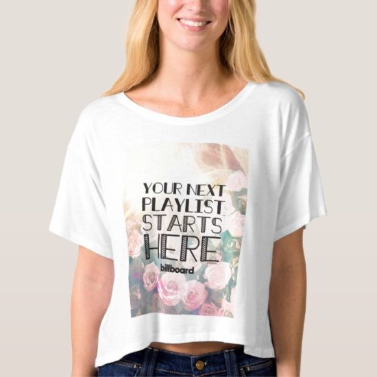 Your Next Playlist Starts Here T-shirt