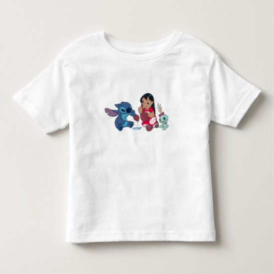 Lilo and Stitch Tea Party Toddler T-shirt