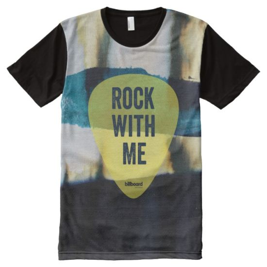 Rock With Me All-Over Print T-shirt