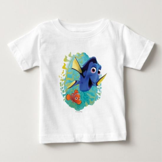 Dory & Nemo | Swim With Friends Baby T-Shirt