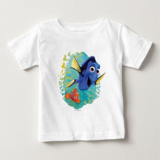 Dory & Nemo   Swim With Friends Baby T-Shirt