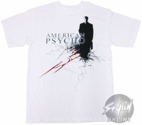 American Psycho Freehand Lines T-Shirt