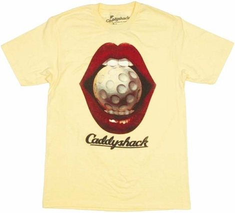 Caddyshack Poster T Shirt Sheer