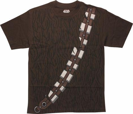 Star Wars Chewbacca Costume T-Shirt