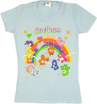 Care Bears Friends Play Group Baby Doll Tee