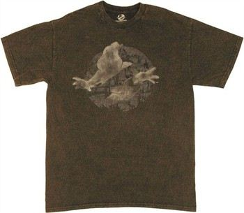Ghostbusters Ghost Logo Weathered T-Shirt