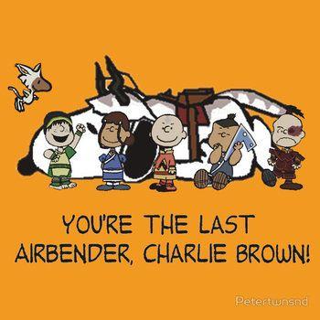 You're the Last Airbender, Charlie Brown!
