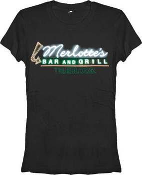 Merlotte's Bar and Grill Logo True Blood Womens T-Shirt