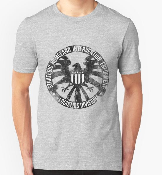 'Vintage Stlye S.H.I.E.L.D ' T-Shirt by Bazookoidben T-Shirt