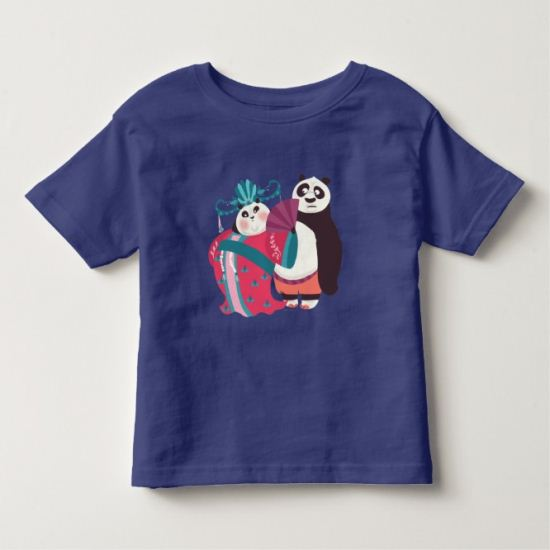 Po and Mei Mei Toddler T-shirt