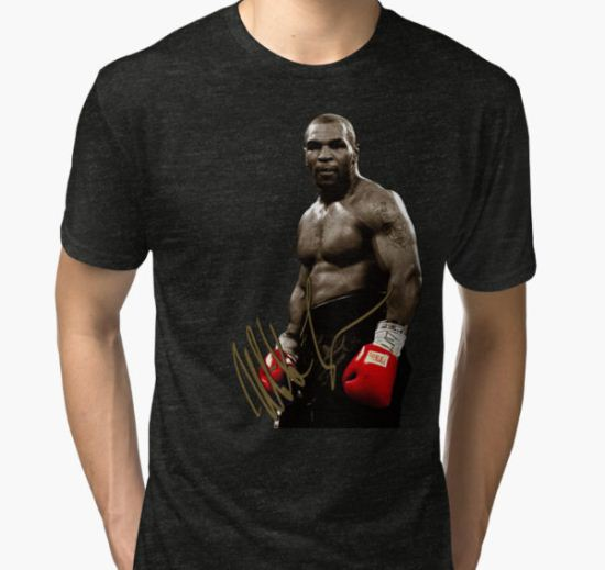 mike tyson Tri-blend T-Shirt by umart12 T-Shirt