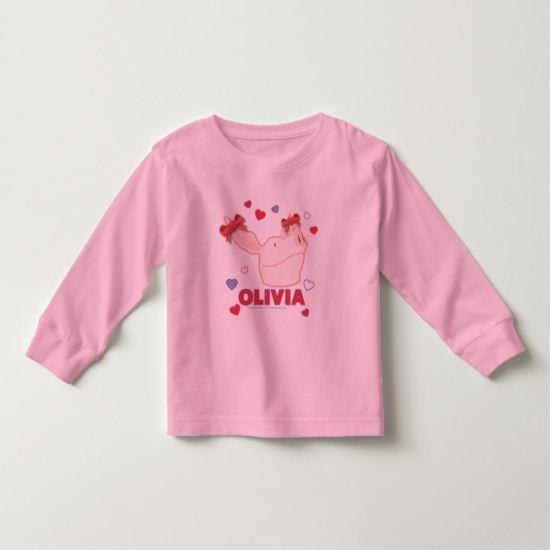 Olivia - Hearts Toddler T-shirt