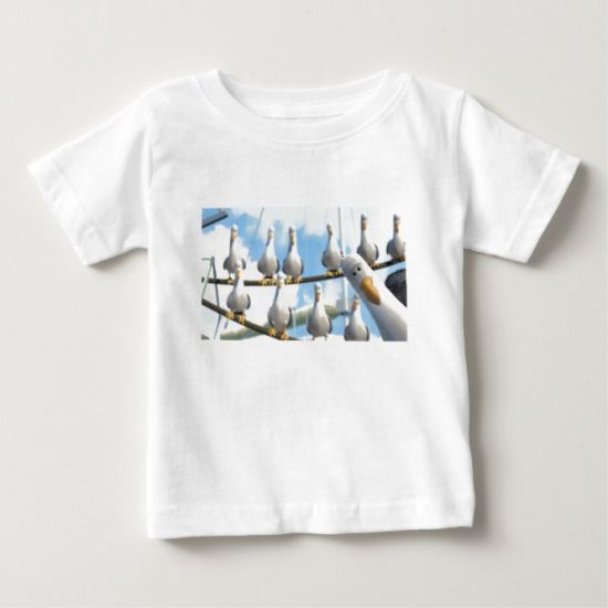 Finding Nemo Seagulls on ropes Baby T-Shirt
