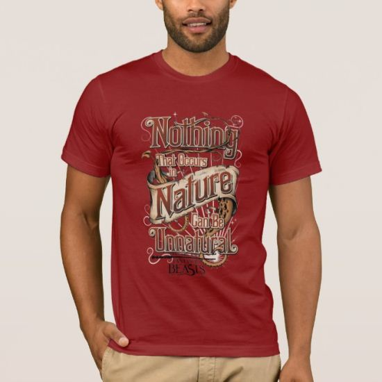 Nothing In Nature Can Be Unnatural - Red T-Shirt