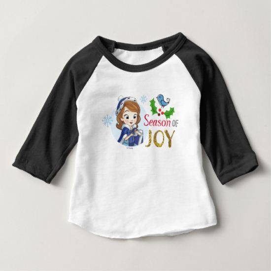 Sofia the First | Season Of Joy Baby T-Shirt
