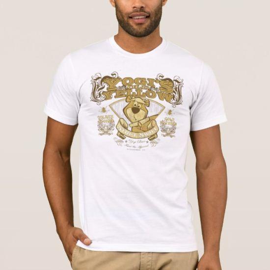 Yogi Bear Old Yellow Stout T-Shirt