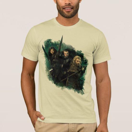 Kili, THORIN OAKENSHIELD™, & Fili Graphic T-Shirt