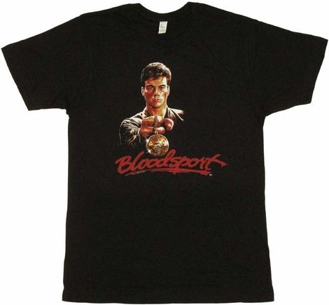 Bloodsport Medal T Shirt Sheer