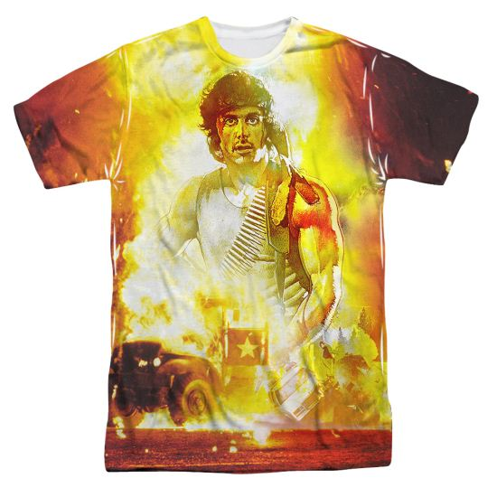 Rambo First Blood Poster Sublimation Shirt