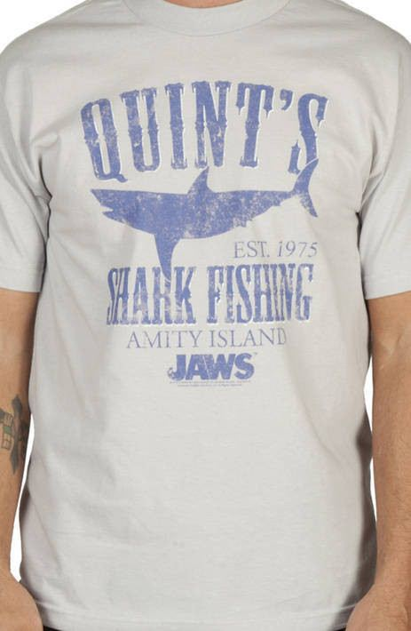 Quints Shark Fishing Shirt
