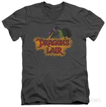 Dragon's Lair - Dragon Logo V-Neck