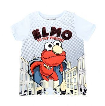 Sesame Street Elmo To The Rescue Toddler T-Shirt with Cape