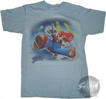 Super Mario Dance Revolution Mix T-Shirt Photo Sheer