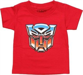 Transformers Autobot Icon Logo Toddler T-Shirt