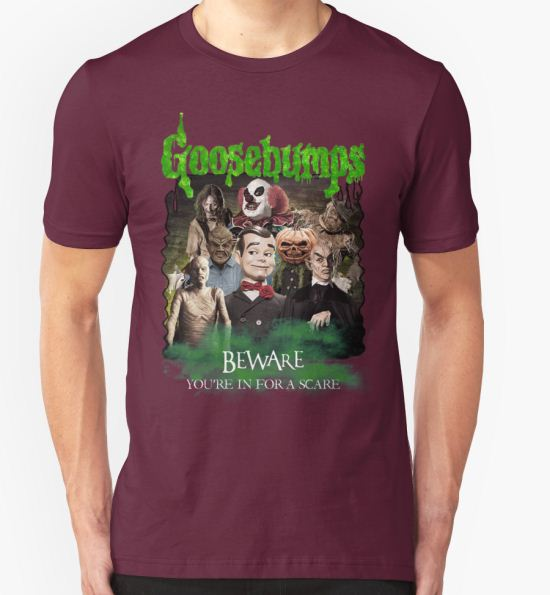 'Goosebumps v.2' T-Shirt by ConnorMcKee T-Shirt