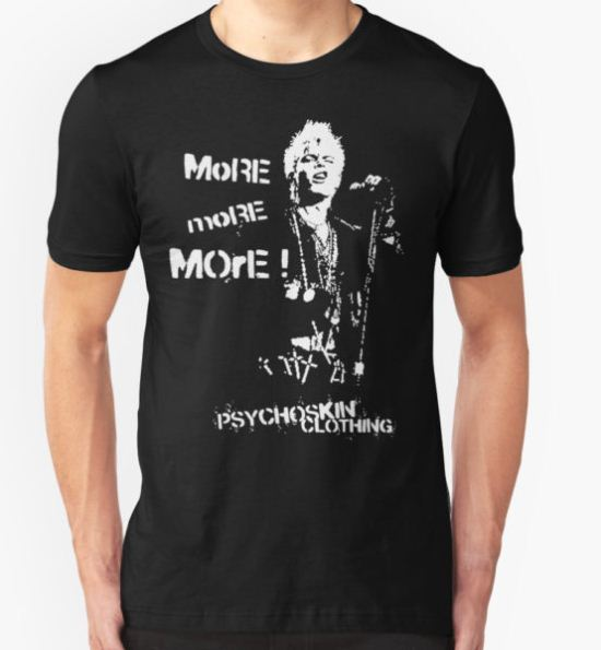 Billy Idol - Rebel Yell T-Shirt by Psychoskin T-Shirt