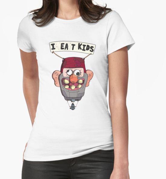 gravity falls i eat kids balloon  T-Shirt by claritykiller T-Shirt