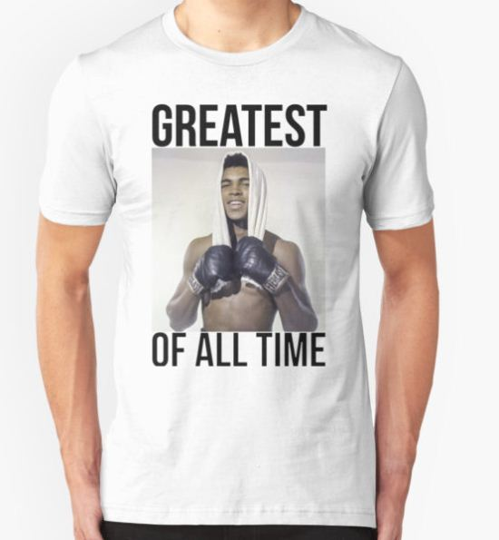 Muhammad Ali - Greatest Of All Time T-Shirt by Lone Wolf T-Shirt