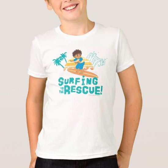 Go Diego Go! | Surfing to the Rescue T-Shirt