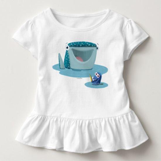 Destiny & Dory   Bubble Buds Toddler T-shirt
