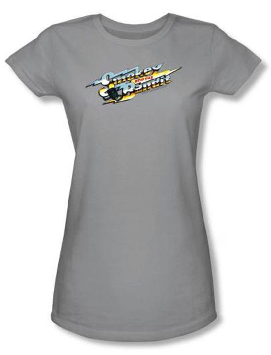 Smokey And The Bandit Juniors T-shirt Movie Logo Silver Tee Shirt