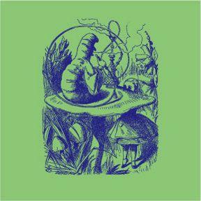 Caterpillar Alice In Wonderland T-Shirt